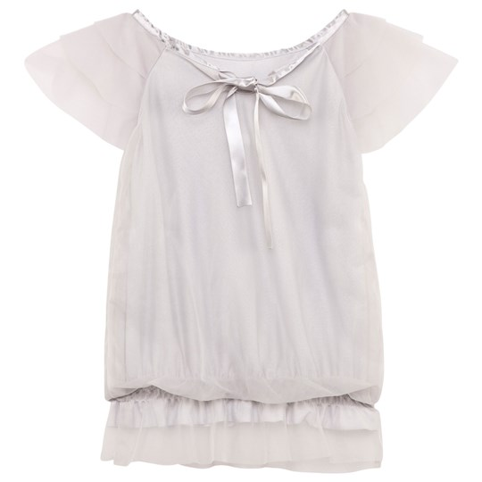 DOLLY by Le Petit Tom Fairy Top Silver Grey Silver