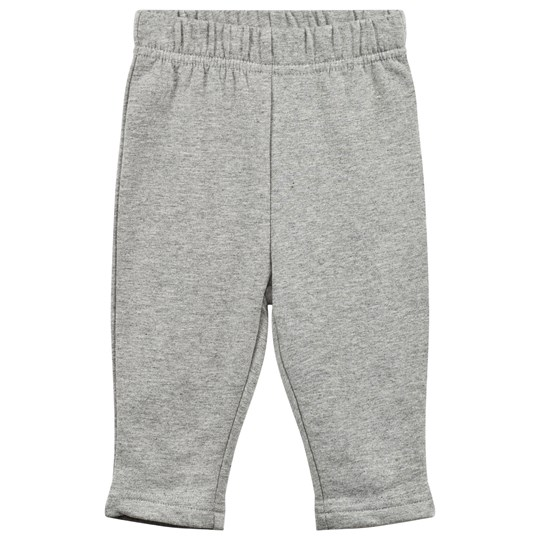 Wheat Baggy Sweat Pants Melange Grey Melange Grey
