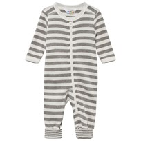 Joha Jumpsuit W/2in1 Foot Stripe Uni YD Stripe Uni