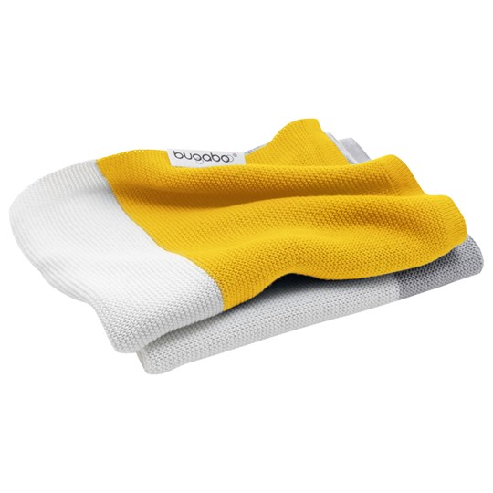 Bugaboo Light Cotton Blanket Bright Yellow Multi Keltainen