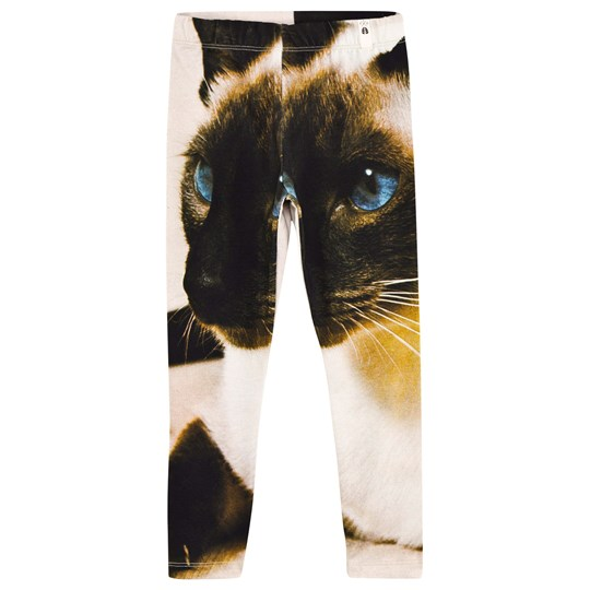 Popupshop Leggings Cat Black & White Cat White & Black Print