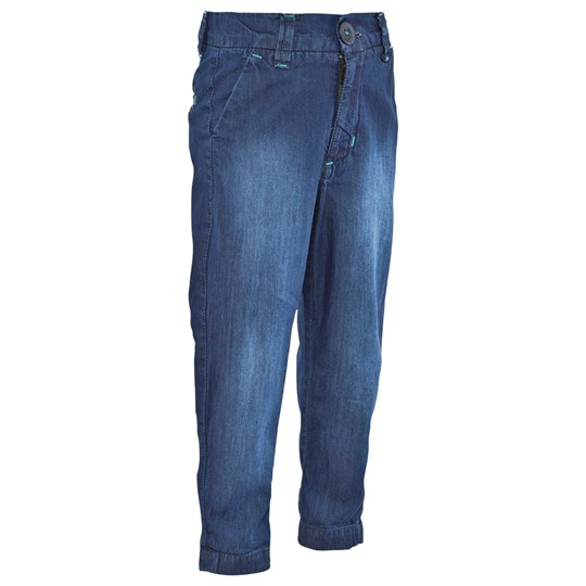 Geggamoja Soft Chinos Denim/blue Denim/blue