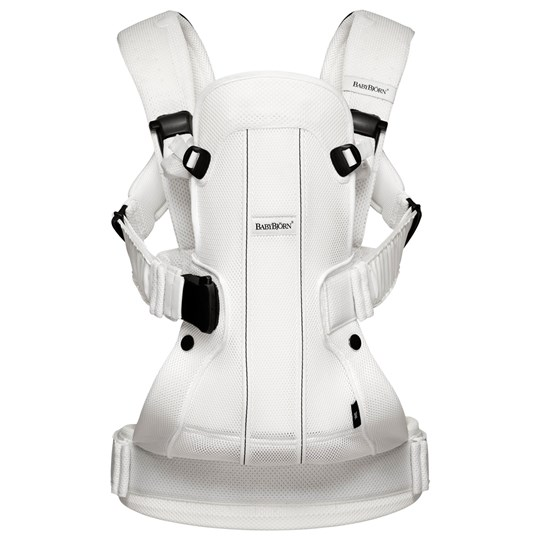 Babybjörn Baby Carrier We Air White White