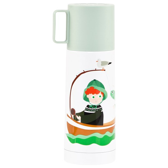 Blafre Stainless Steel Vacuum Flask Sea Green Sjøgløtt grønn