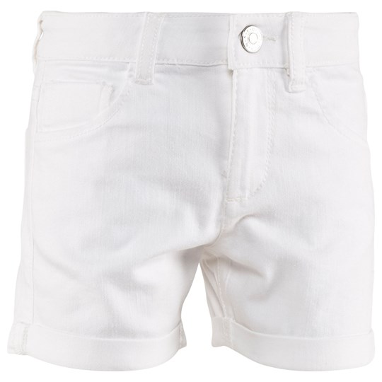 United Colors of Benetton Coloured Denim Shorts White WHITE 101