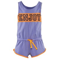 United Colors of Benetton Sporty Romper Purple PURPLE 36G