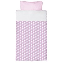 Baby Dan Harmony Baby Bed Linen Pink Baby Pink