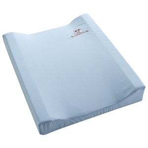 Image of Baby Dan Changing Mat Love Birds Blue (3149053645)