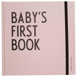 Image of Design Letters Baby´s First Book - Pink (3065504329)
