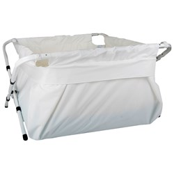 BiBaBad Portable Bath XXL White/White