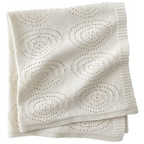 Kids Concept Neo Knitted Cotton Blanket White Hvid
