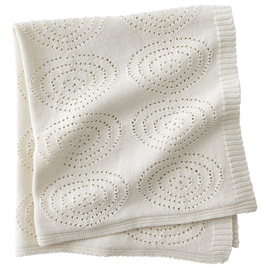 Kids Concept Neo Knitted Cotton Blanket White White