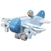 Kids Concept Airplane Blue Sininen