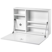 Kids Concept Star Wall Desk White Hvit
