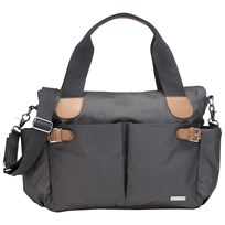 Storksak Kay Changing Bag Grey Black