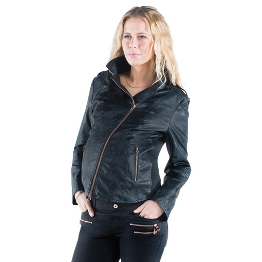 Mom2Mom Leatherjacket Gear Black Black