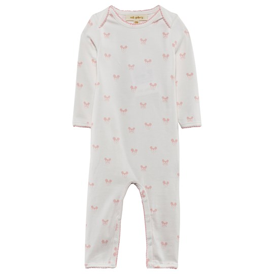 Soft Gallery Ben Baby One-Piece Pink Miki Bright White, AOP Pink Miki
