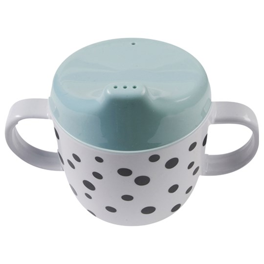 Done by Deer Happy Dots Sippy Cup Blue Blue