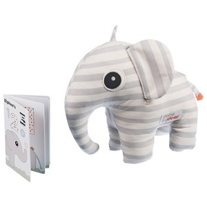 Image of Done by Deer Elphee Soft Toy & Book Grey (2743807019)