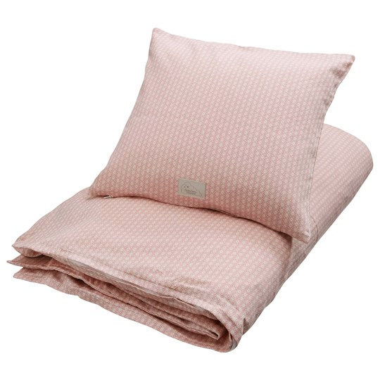 Cam Cam Baby Bedding Sashiko Blush Swedish GOTS Blush