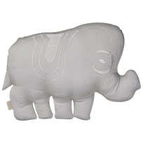Cam Cam Elephant Cushion in Grey Black