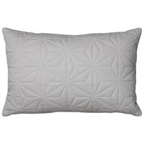 Cam Cam Cushion Quilt Rectangular in Grey Black