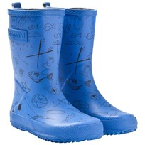 Bisgaard Rubber Boot Adventure Blue Blue