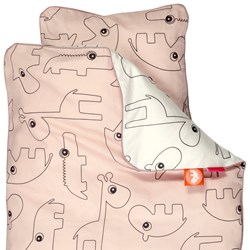 Done by Deer Contour Junior Bedlinen Powder - Denmark