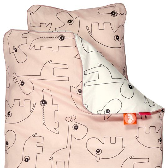 Done by Deer Contour Junior Bedlinen Powder - Denmark Powder