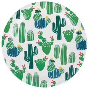 Image of My Little Day 8 Papers Plates - Cactus (3125347655)