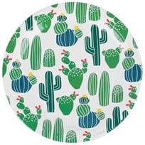 My Little Day 8 Papers Plates - Cactus cactus