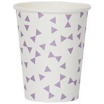 My Little Day 8 Paper Cups - Lilac Bows lilac bows