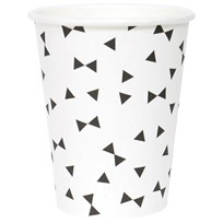 My Little Day 8 Paper Cups - Black Tie black tie