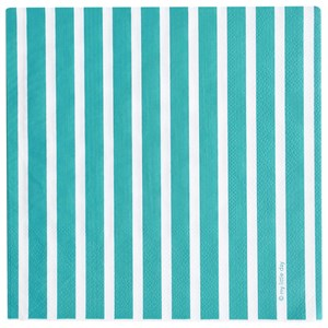Image of My Little Day 20 Paper Napkins - Blue Stripes (2743697809)