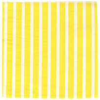 My Little Day 20 Paper Napkins - Yellow Stripes Yellow Stripes