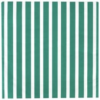 My Little Day 20 Paper Napkins - Dark Green Stripes dark green stripes