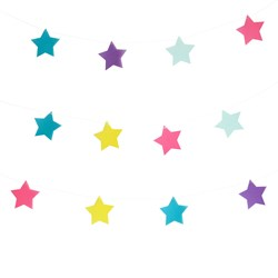 My Little Day Star Garland - Multicolor