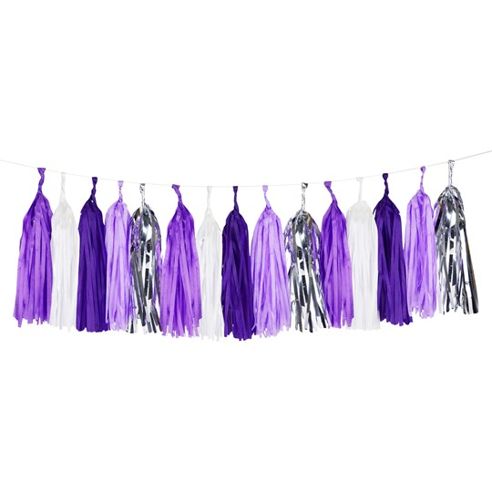 My Little Day Tassel Garland - Lilac Lilac