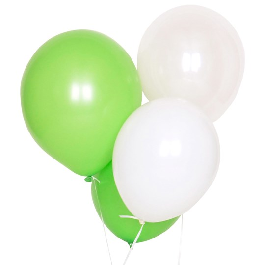 My Little Day 10 Balloons Mix - Green Green