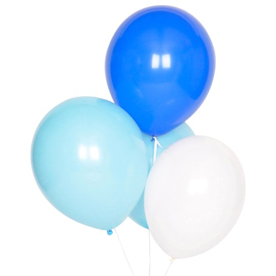 My Little Day 10 Balloons Mix - Blue Blue