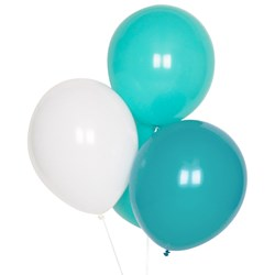 My Little Day 10 Balloons Mix - Aqua