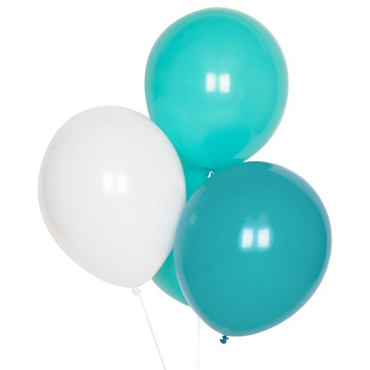 My Little Day 10 Balloons Mix - Aqua Aqua