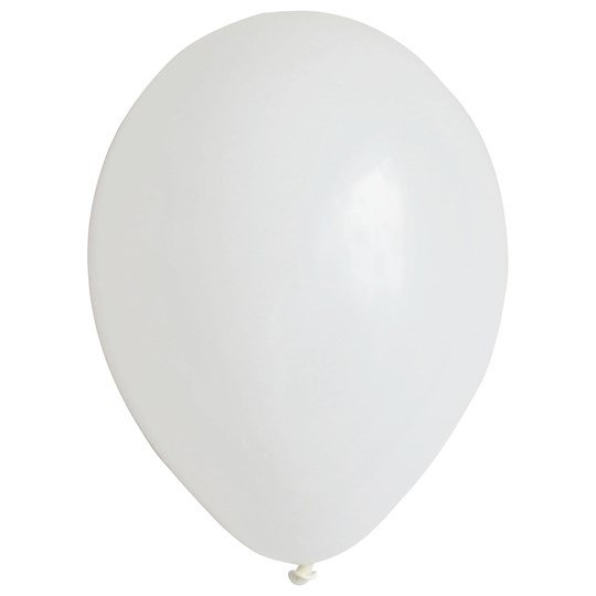My Little Day 10 Balloons - White White