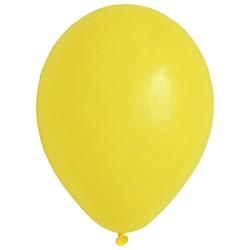 My Little Day 10 Balloons - Yellow