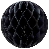 My Little Day Honeycomb Pappersboll Svart Black