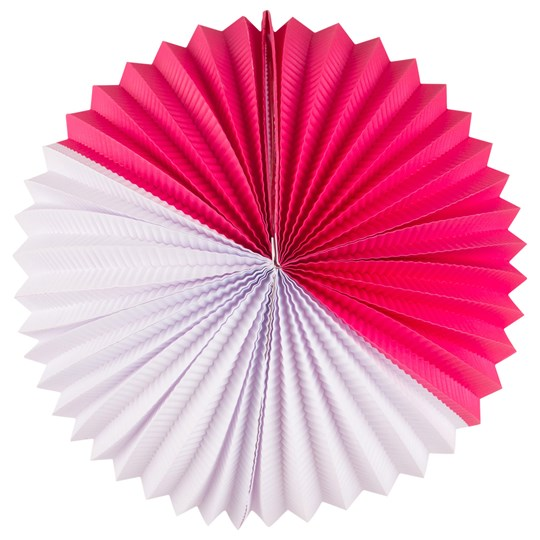 My Little Day Paper Lantern - Bright Pink & White BRIGHT PINK