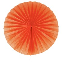 My Little Day Pinwheel Paper Fan - Orange Orange