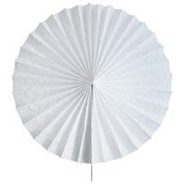 My Little Day Paper Fan - White White