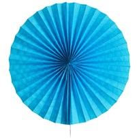 My Little Day Paper Fan - Blue Blue