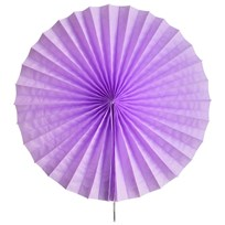 My Little Day Pinwheel Paper Fan - Lilac Lilac